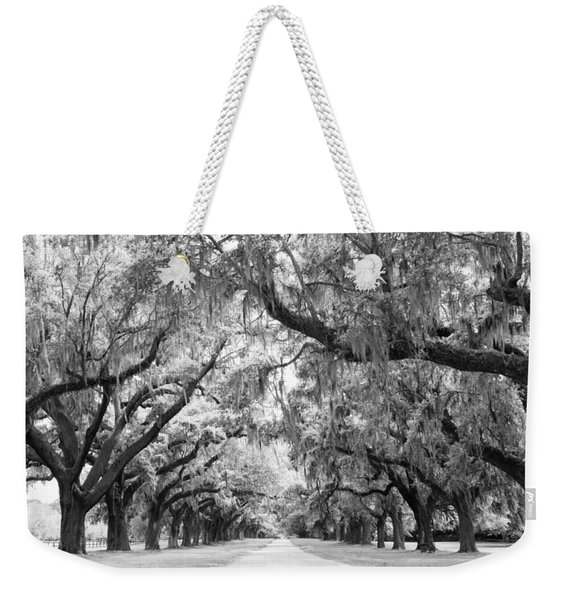 Avenue Of Oaks Charleston South Carolina Weekender Tote Bag