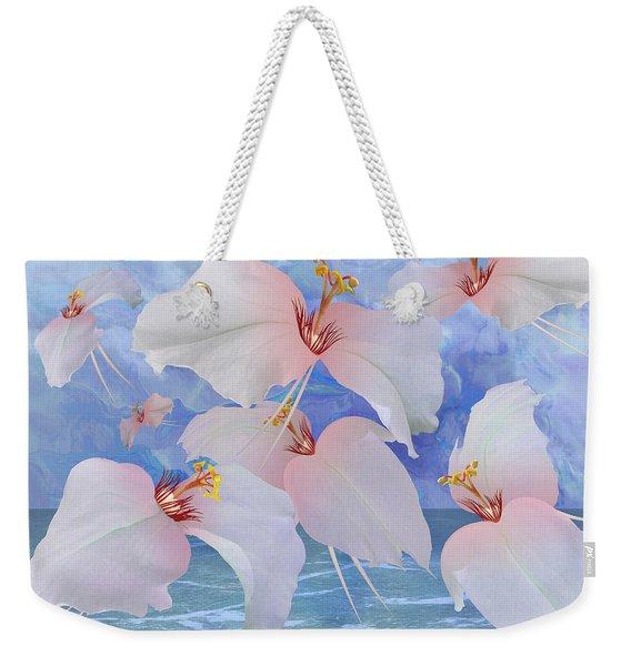 Avian Flowers Weekender Tote Bag