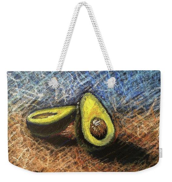 Avocado Study 2 Weekender Tote Bag