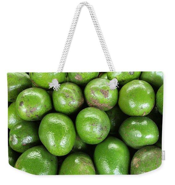 Avocados 243 Weekender Tote Bag