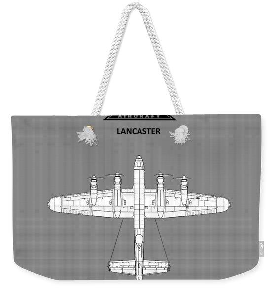 Avro Lancaster Weekender Tote Bag