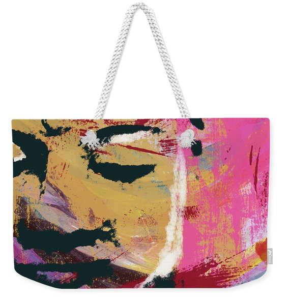 Awakened Buddha 3- Art By Linda Woods Weekender Tote Bag