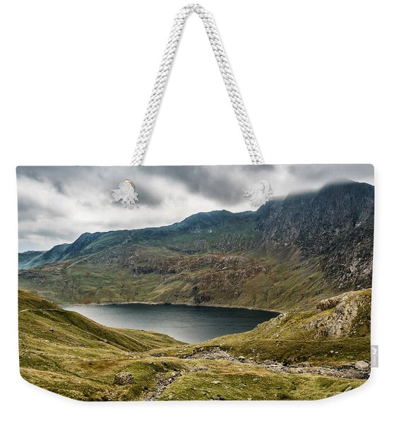 Weekender Tote Bag featuring the photograph Awesome Hike by Nick Bywater