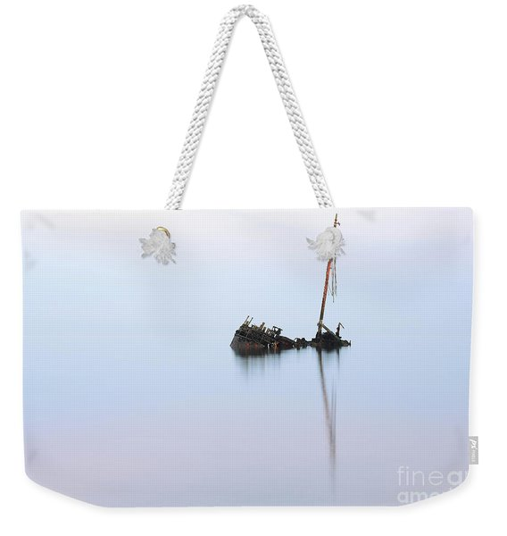 Ayrshire Shipwreck In Sunrise Ref3342 Weekender Tote Bag