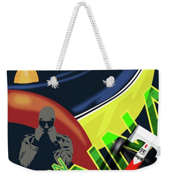 Ayrton Senna Weekender Tote Bag