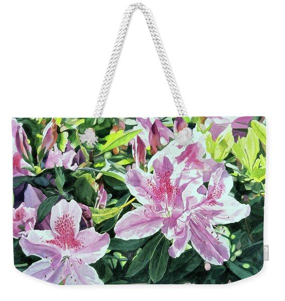 Azalea Carmelo Weekender Tote Bag