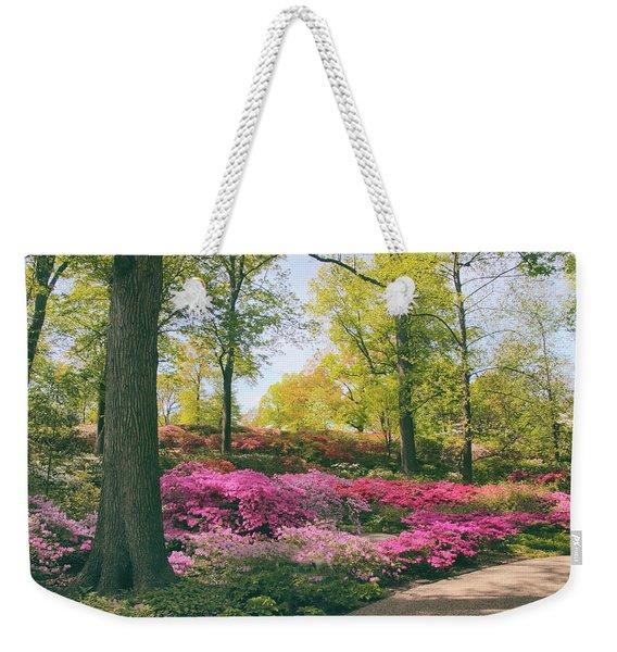 Azalea Garden Delight Weekender Tote Bag