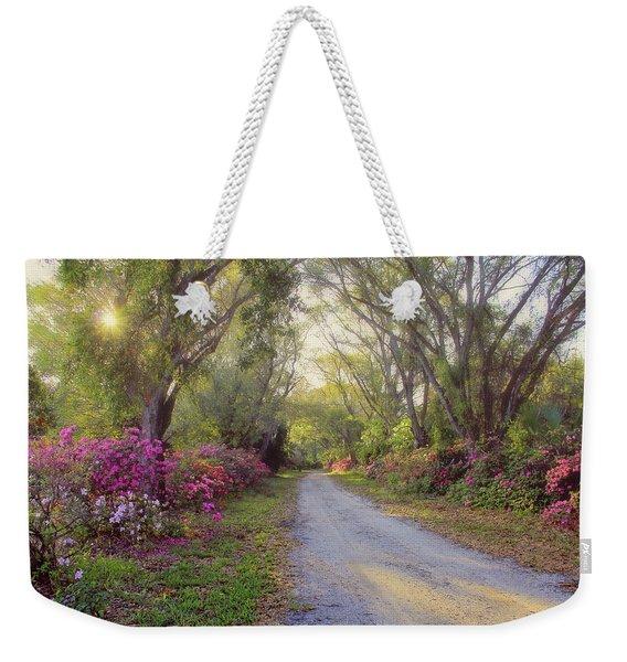 Azalea Lane By H H Photography Of Florida Weekender Tote Bag