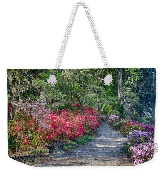 Azalea Path Weekender Tote Bag