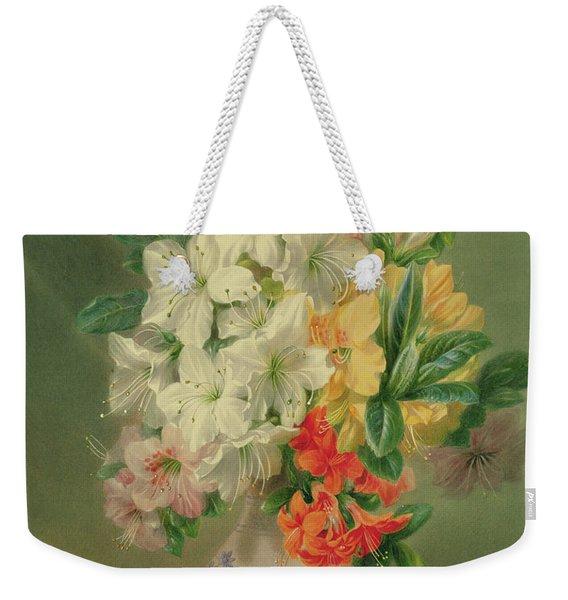 Azaleas Weekender Tote Bag
