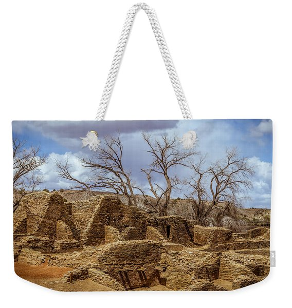 Aztec Ruins, New Mexico Weekender Tote Bag