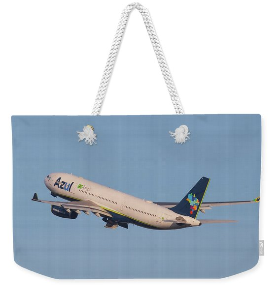 Azul Air Weekender Tote Bag