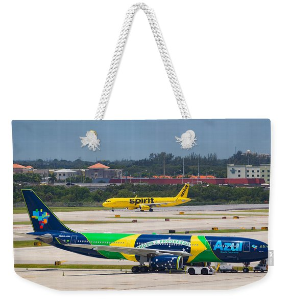 Azul Airline Weekender Tote Bag