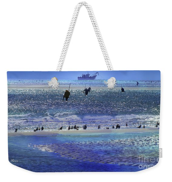 Azul De Lluvia Weekender Tote Bag