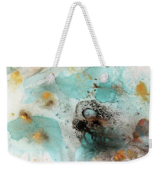 Azure Waters By V.kelly Weekender Tote Bag