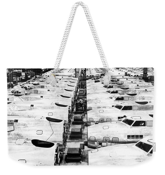B-17 Fortress Factory Weekender Tote Bag