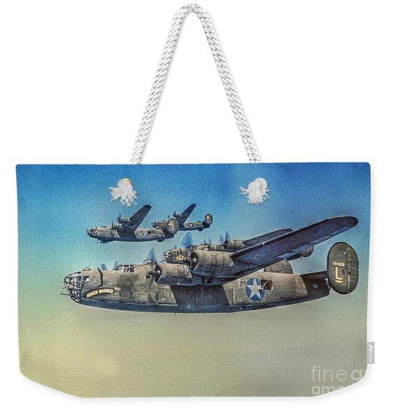 B-24 Liberator Bomber Weekender Tote Bag