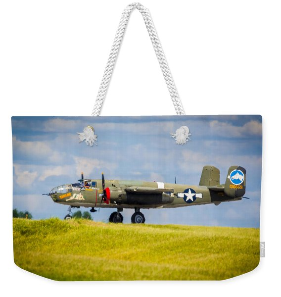 B-25 Landing Original Weekender Tote Bag