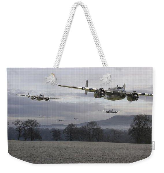 B25 Strike Package Weekender Tote Bag