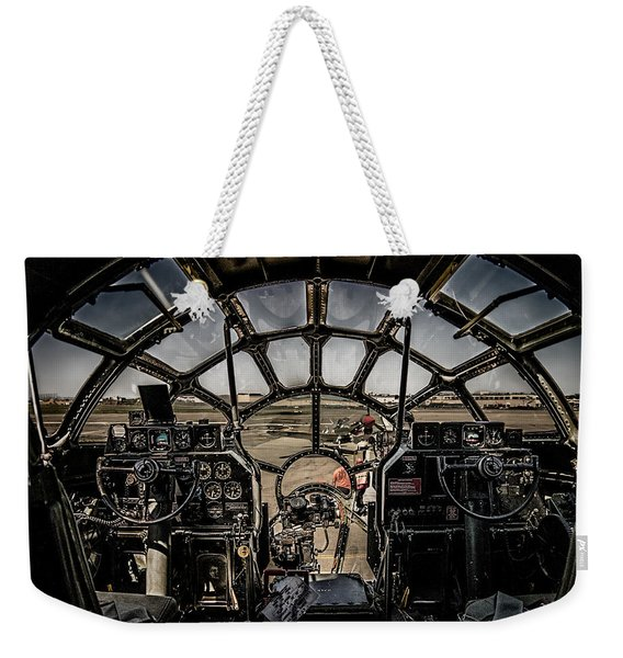 B29 Superfortress Fifi Cockpit View Weekender Tote Bag
