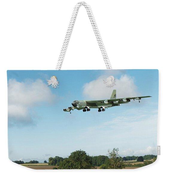B52 Stratofortress Weekender Tote Bag