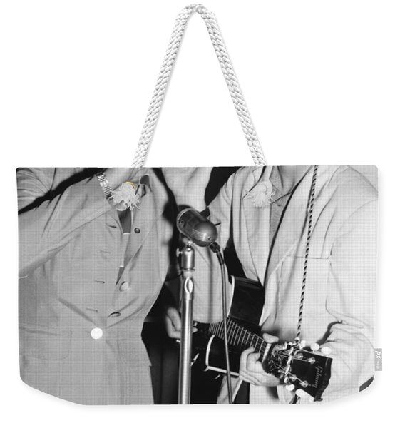 Babe Didrikson And Betty Dodd Weekender Tote Bag