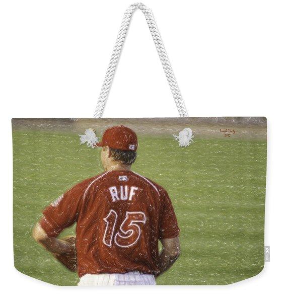 Babe Ruf Weekender Tote Bag