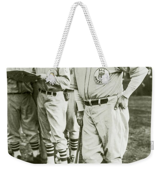 Babe Ruth All Stars Weekender Tote Bag