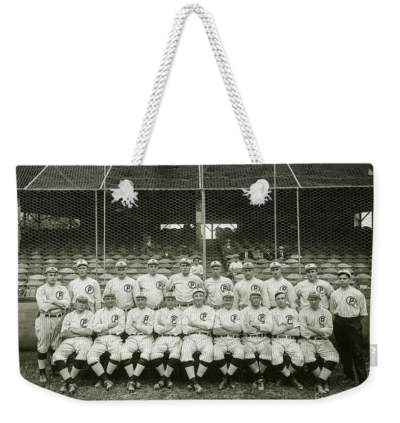Babe Ruth Providence Grays Team Photo Weekender Tote Bag