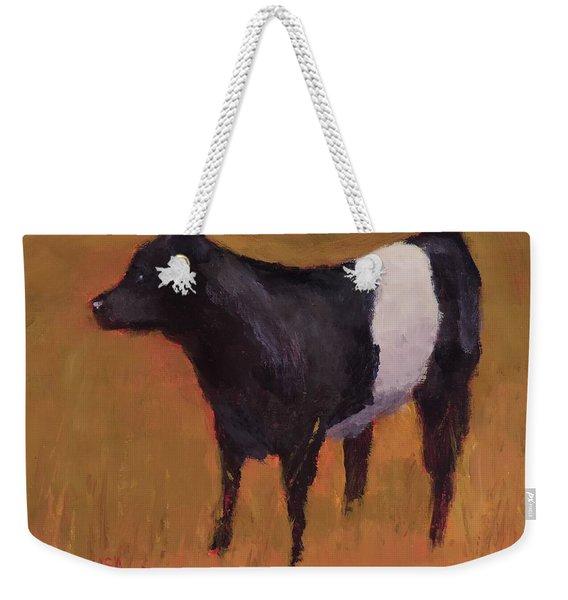 Baby Beltie - Art By Bill Tomsa Weekender Tote Bag
