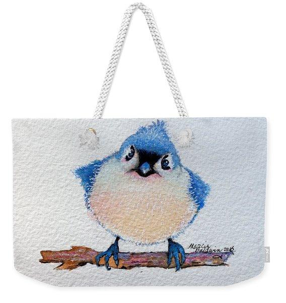 Baby Bluebird Weekender Tote Bag