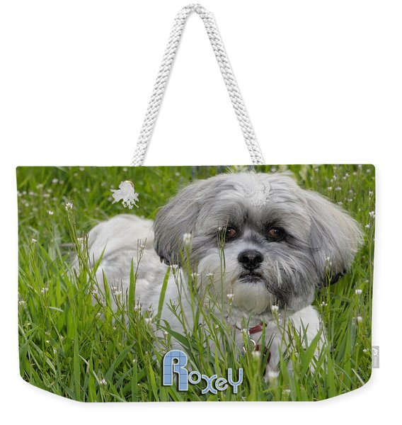 Baby Breath Tote Weekender Tote Bag