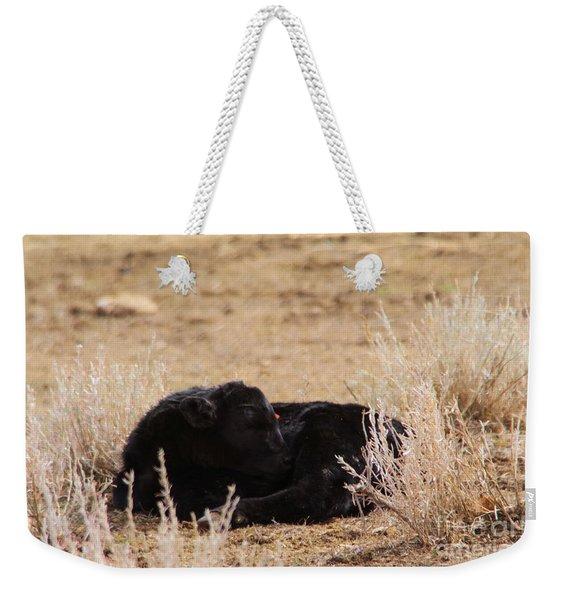 Baby Calf Weekender Tote Bag