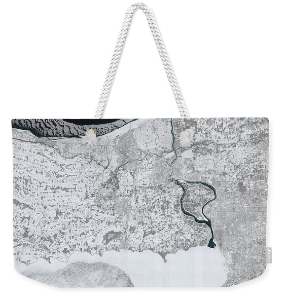 Baby, It's Cold Outside Weekender Tote Bag
