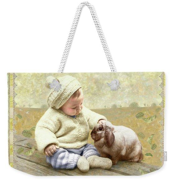 Baby Pats Bunny Weekender Tote Bag