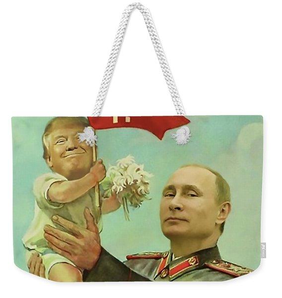 Baby Trump Putin Weekender Tote Bag