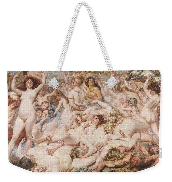 Bacchanalia Weekender Tote Bag