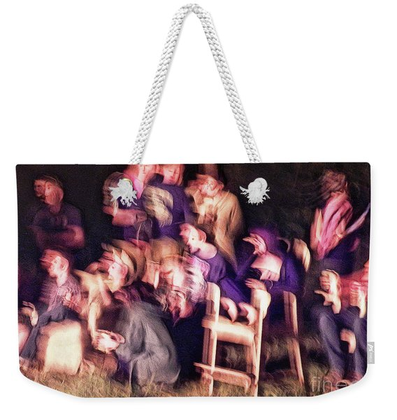 Bacchanalian Freak Show With Hieronymus Bosch Treatment Weekender Tote Bag