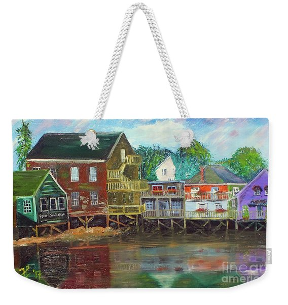 Back Bay Kennebunkport Weekender Tote Bag