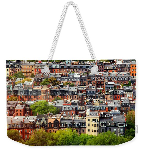 Back Bay Weekender Tote Bag