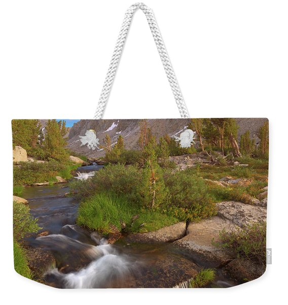 Back Country Creek Weekender Tote Bag