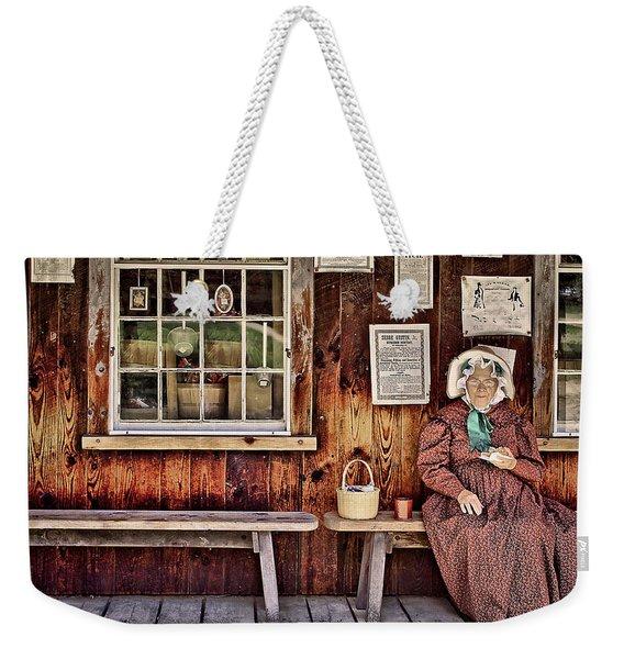 Back In The Days Weekender Tote Bag