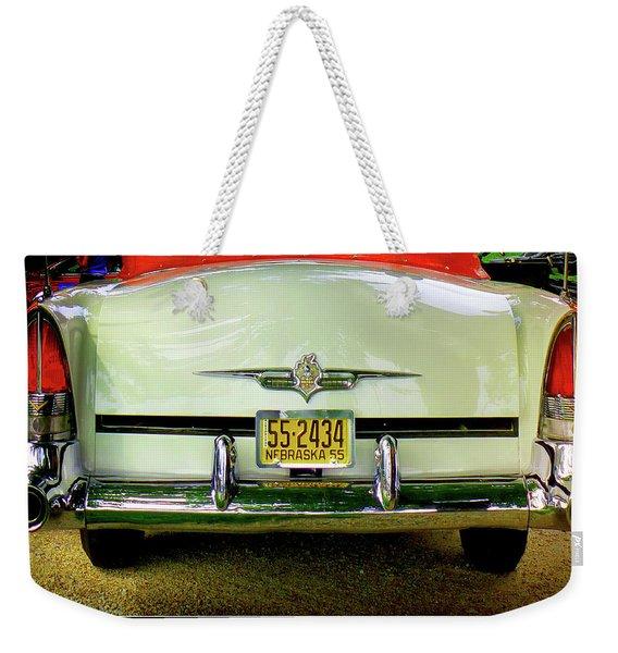 Back To 55 Weekender Tote Bag