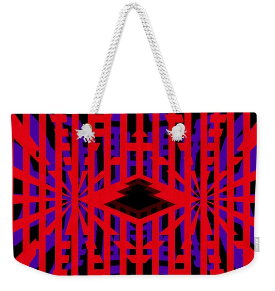 Back To The Future - Abstract By Kaye Menner Weekender Tote Bag