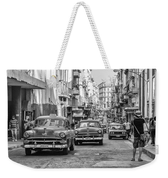 Back To The Past Weekender Tote Bag