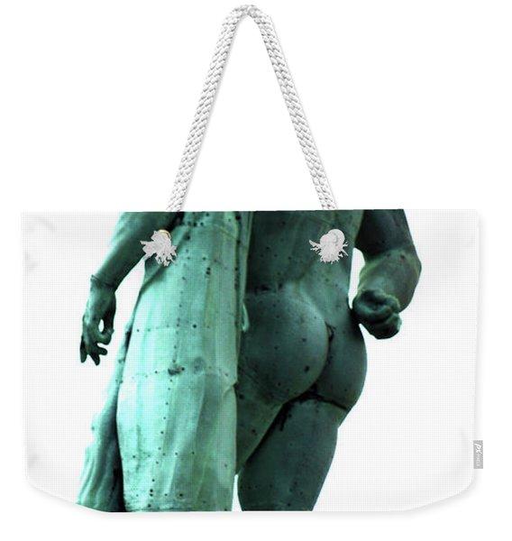 Back View From Great Hercules Weekender Tote Bag