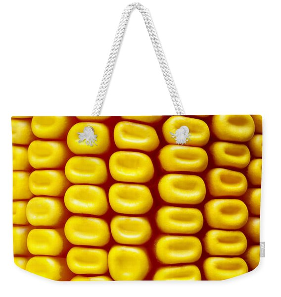 Background Corn Weekender Tote Bag