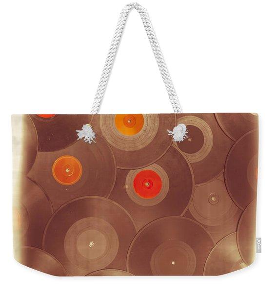 Background Music Weekender Tote Bag