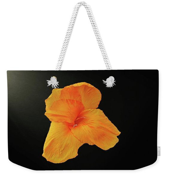 Backlit Orange Petals Weekender Tote Bag