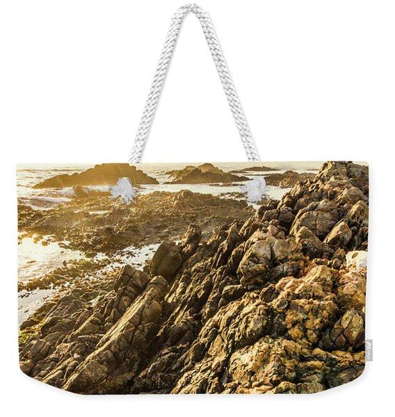 Backpacking A Tropical Sundown Weekender Tote Bag